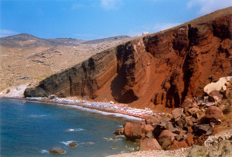 santorin plage - Photo